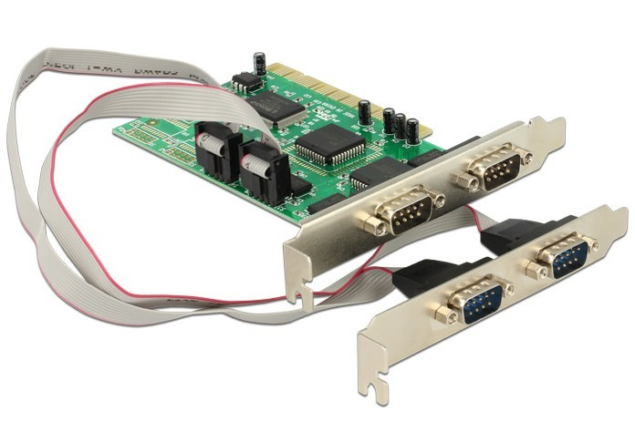DELOCK 89046 PCI CARD 4X SERIAL INTERFACE CARDS/ADAPTER