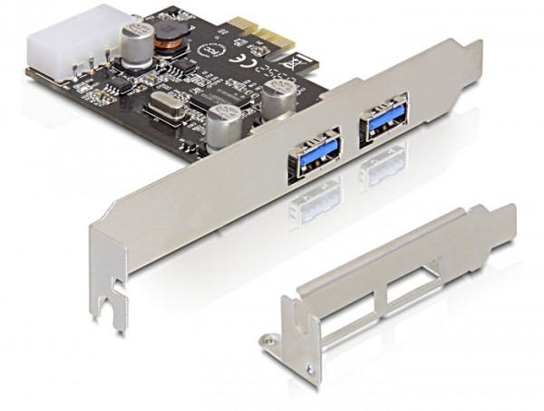 DELOCK 89243 PCI EXPRESS CARD > 2X USB 3.0